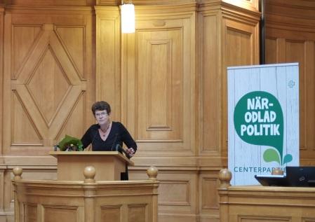 Christina Linderholm, ny distriktsordförande för Centerpartiet i Stockholms stad.